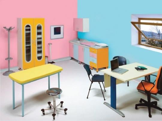 Мебель детская для педиатрии и неонатологии