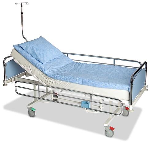 Двухсекционные медицинские функциональные кровати