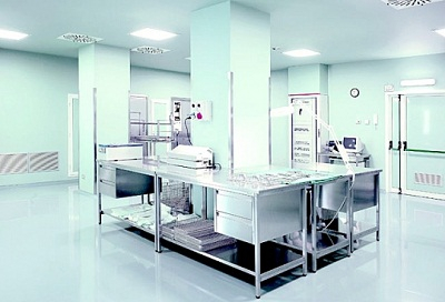 Оснащение стерилизационных отделений