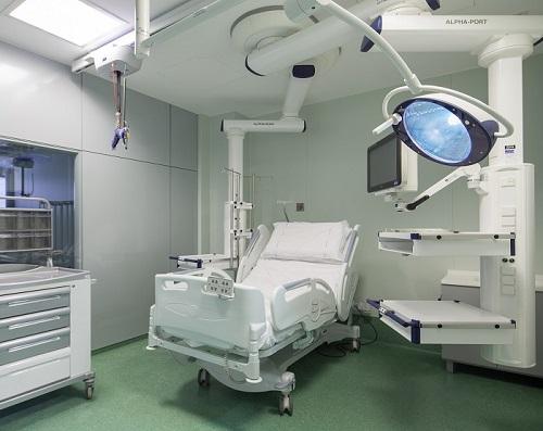 Оснащение медицинских палат и палат интенсивной терапии