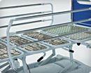 Аксессуары к медицинским четырехсекционным кроватям