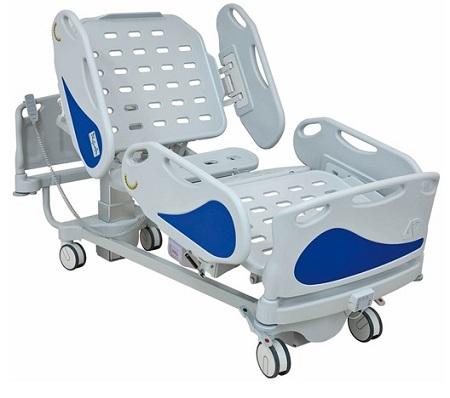 Больничная реанимационная функциональная четырехсекционная кровать 11-CP259