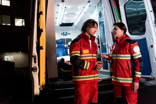 Оснащение для машин скорой помощи