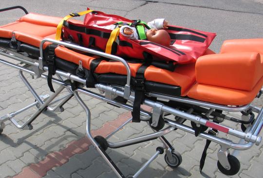 Средства иммобилизации и транспортировки для машин скорой помощи