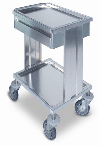 Стол - тележка медицинская для инструментов 16-FP477