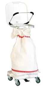 Медицинская тележка для белья на один мешок 3830 CR