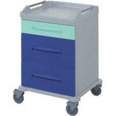Медицинская тележка с ящиками 16-FT640
