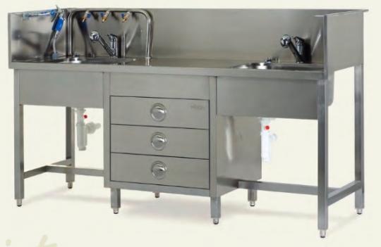 Медицинская раковина для мытья инструментария - MOYB 1051