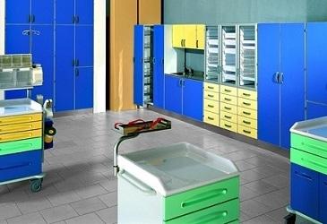 Оборудование и мебель для аптек