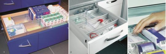 Система хранения медикаментов - оснащение аптек