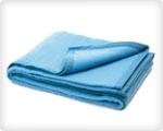 Одеяла и покрывала медицинские огнестойкие