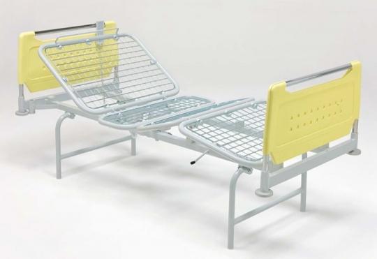 Медицинская четырехсекционная электрическая кровать для лежачих больных на ножках 11-CP119
