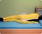Ночная пижама медицинская застежки-молнии сзади