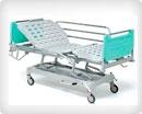 Кровать медицинская функциональная электрическая с подъемным механизмом 4-секционная 11-CP179