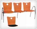 Кресло - скамья в зал ожидания V6660