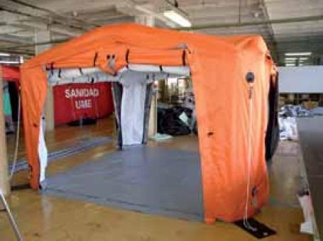 Палаточные комплексы типа EZ для спасательных служб