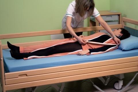 Медицинское белье для тяжелобольных людей
