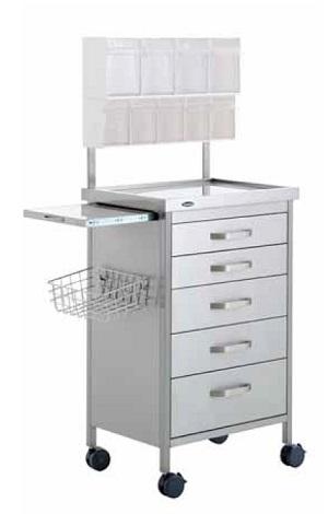Стол анестезиологический на колесах для анестезиолога