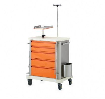 Тележка медицинская для скорой помощи 74402-74400