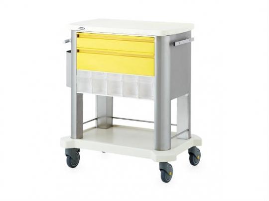 Тележка медицинская с ящиками 74200