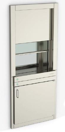 Передаточный шлюз с передаточным окном
