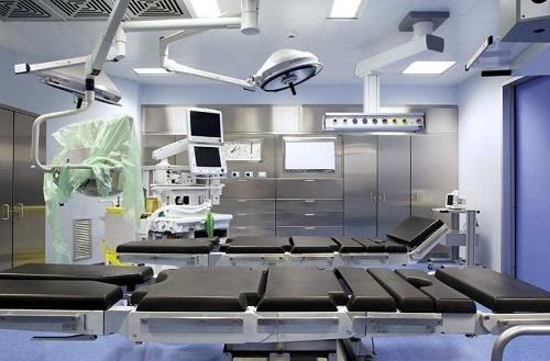 Оснащение чистых помещений в больнице