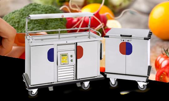 Тележка для транспортировки и раздачи еды AirLine Buffet