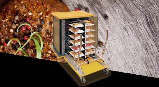 Системы транспортировки и раздачи еды Unitray