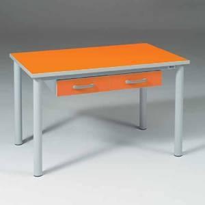 Палатный стол с двумя ящиками 15-РТ120
