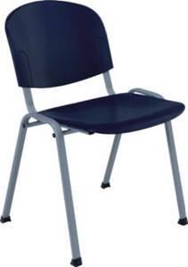 Медицинский стул со спинкой без подлокотников