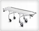 Тележка-каталка оснащённая механизмам самозагрузки для транспортировки тела