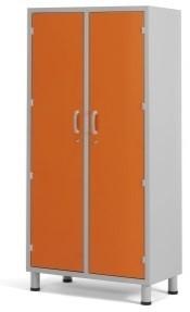 Палатный шкаф с двумя дверцами из многослойного пластикового ламината 13-СР202