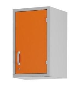 Шкаф-антресоль с одним отделением и дверцей из многослойного пластикового ламината 13-СР204