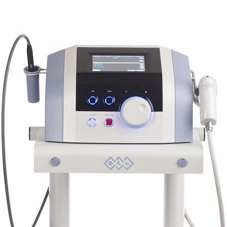 Лазерный аппарат высокой интенсивности и ударно-волновая терапия