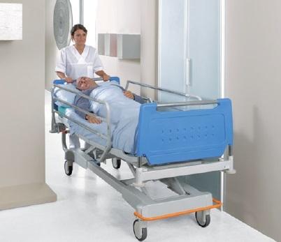 Реанимационная электрическая медицинская кровать с изменяемой высотой и узким ложем 11-CP171