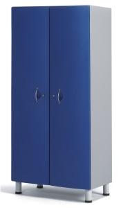 Палатный шкаф с двумя отделениями из технополимеров 13-СТ192