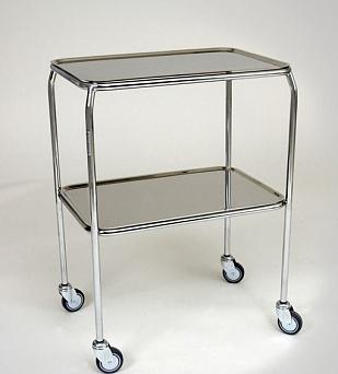 Стол-тележка для медицинских инструментов - модель 1220
