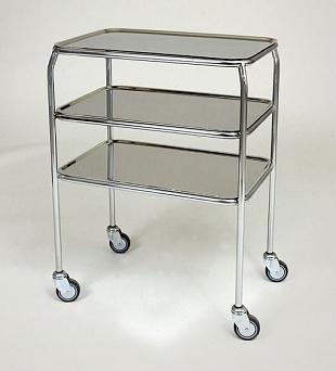 Стол-тележка для медицинских инструментов - модель 1030