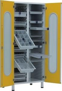 Шкаф для медикаментов для кабинета врача 23-РА244