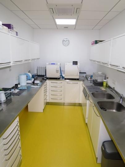 Модульная мебель для для отделения стерилизации