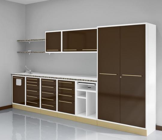 Стоматологическая модульная мебель для оснащения кабинета