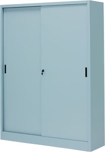 Архивный шкаф с глухими раздвижными дверьми