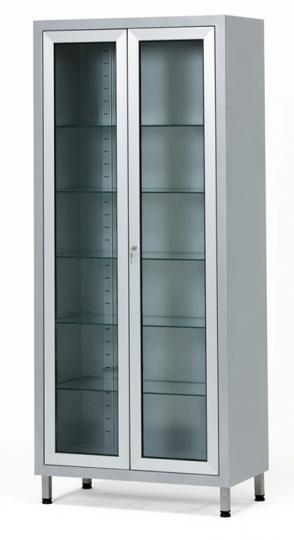 Инструментальный двухстворчатый шкаф 13-FP244