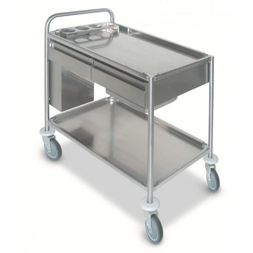Инструментальные медицинские столы: удобство и эргономичность