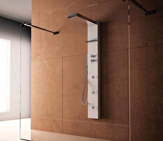 Гидромассажная душевая панель в виде колонны Treesse ELLE 220 Top