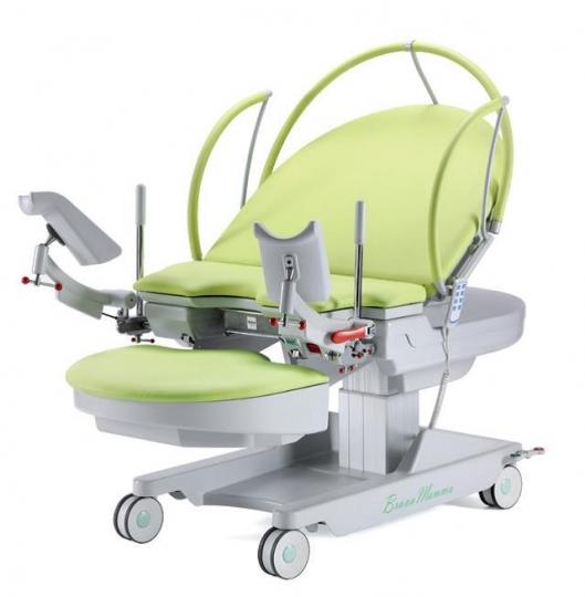 Электрическое кресло-кровать (трансформер) для родовспоможения с регулируемой высотой