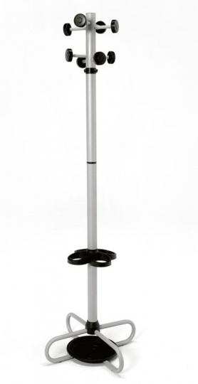 Вешалка для кабинетов с держателем для зонтов
