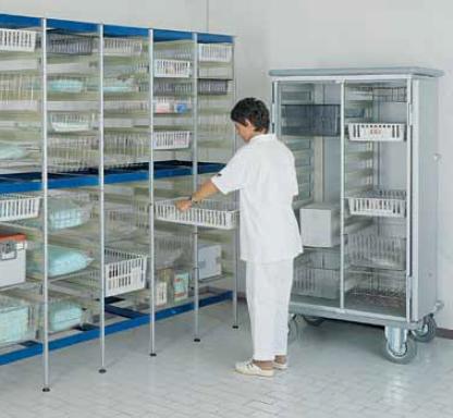 Стеллаж-шкаф для медикаментов