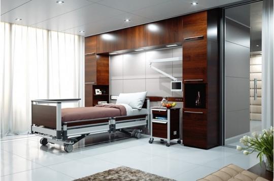 Медицинская функциональная кровать Image 3