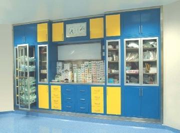 Модульные шкафы для операционных
